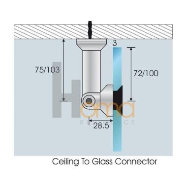 بست شیشه اسپایدری