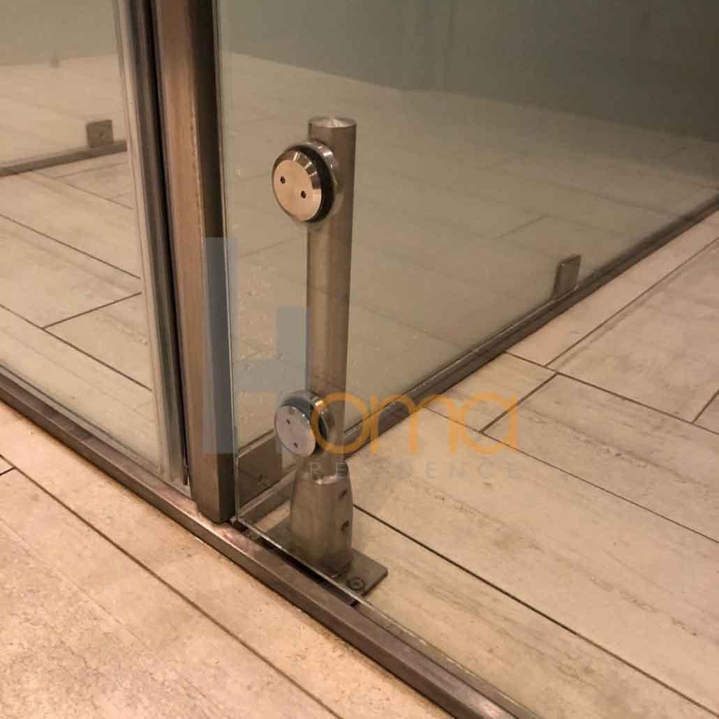 اجرای پارتیشن شیشه