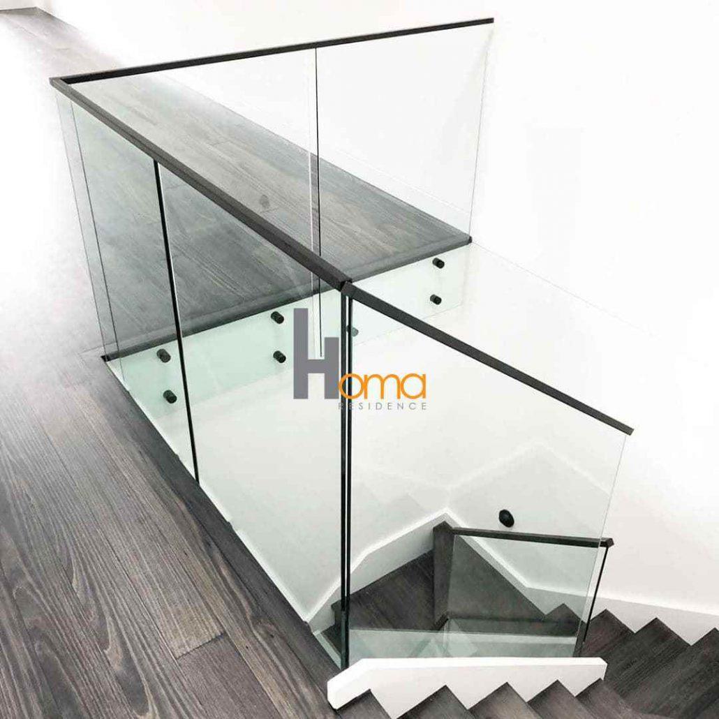 پایه نرده شیشه