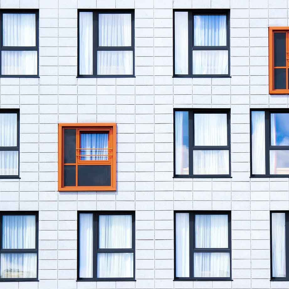 پنجره آلومینیومی پنجره ترمال بریک پنجره دو جداره